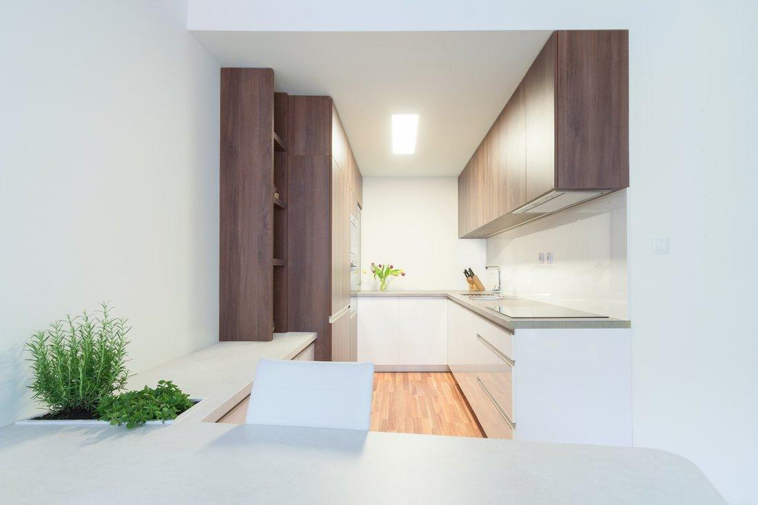 kuchyňa v paneláku