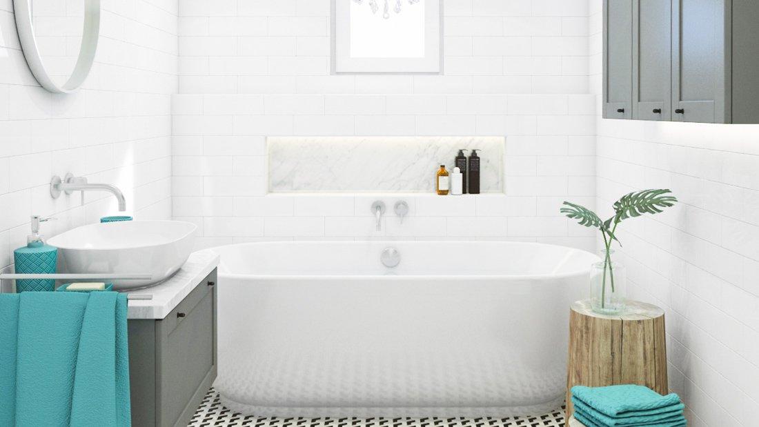 biela kúpelňa
