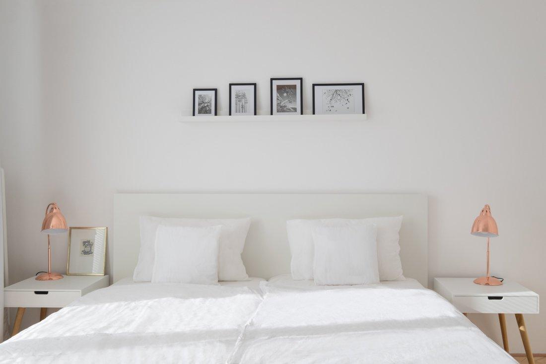 biela spálňa