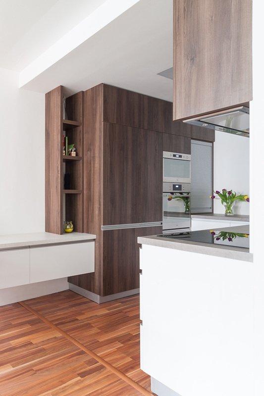 kuchyňa v paneláku po rekonštrukcii