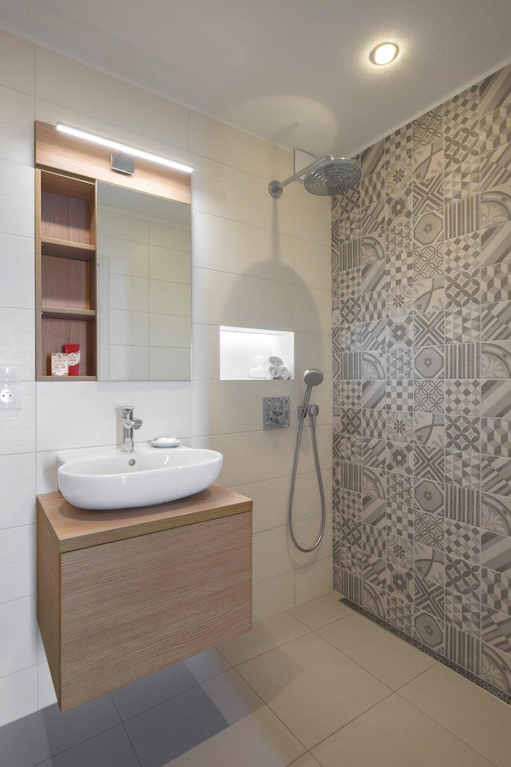 mozaika v kúpeľni