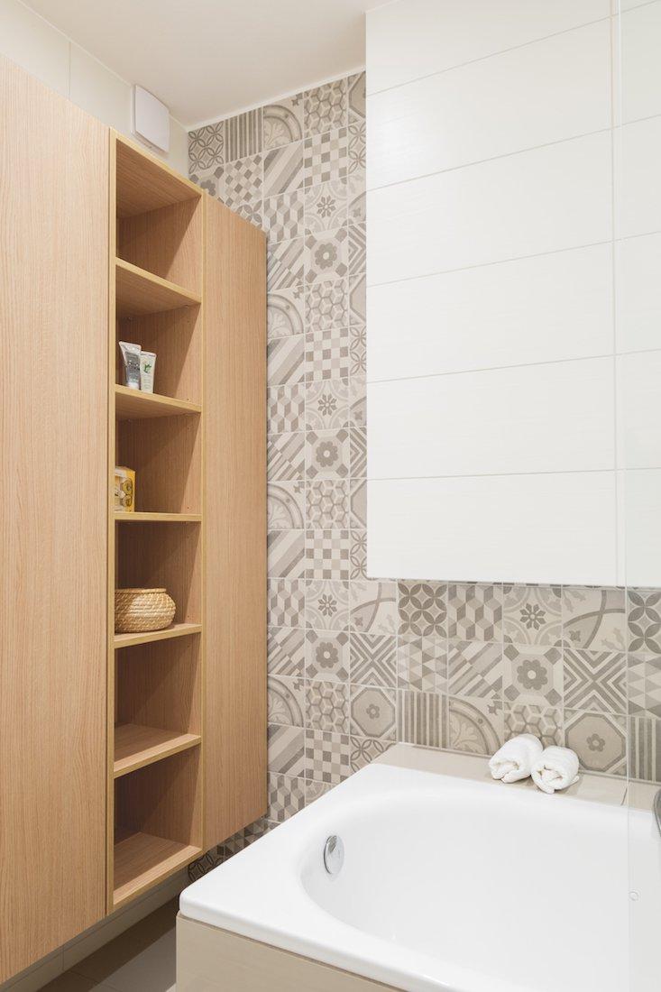 úložný priestor v kúpeľni