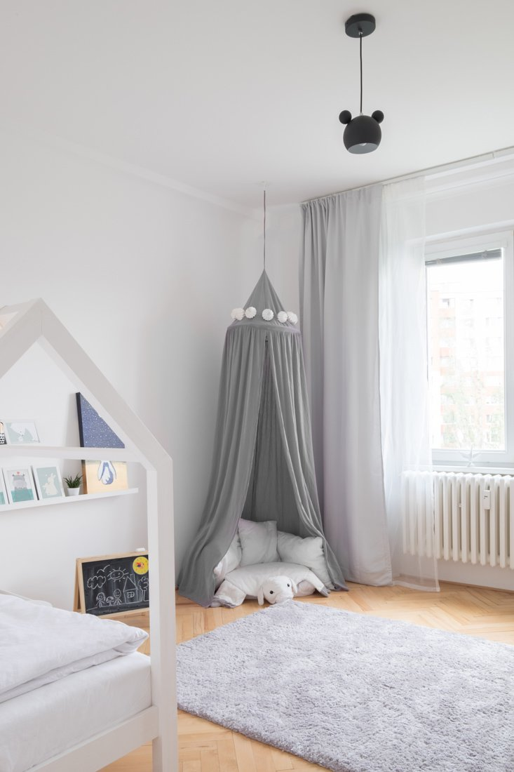 detská izba baldachýn